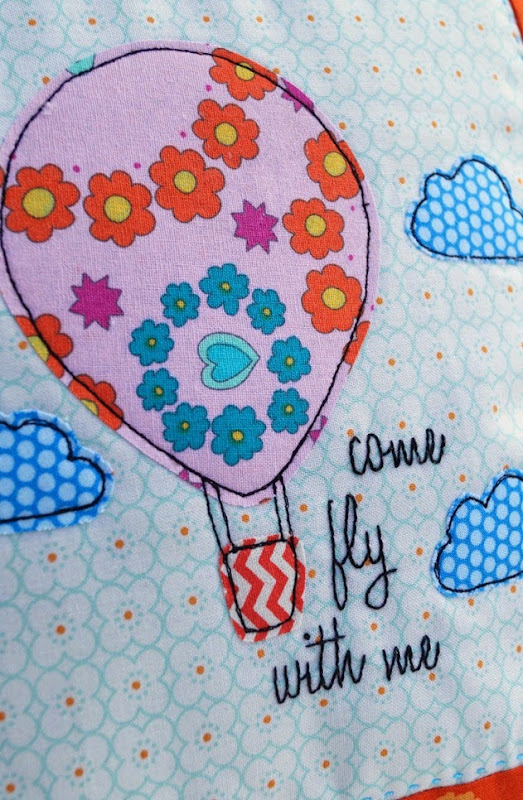 Come Fly With Me Applique by Samelia's Mum