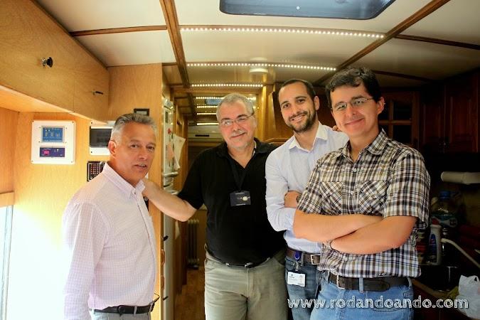 Emilio Müller, Mauricio Revollar, Alvaro Luna