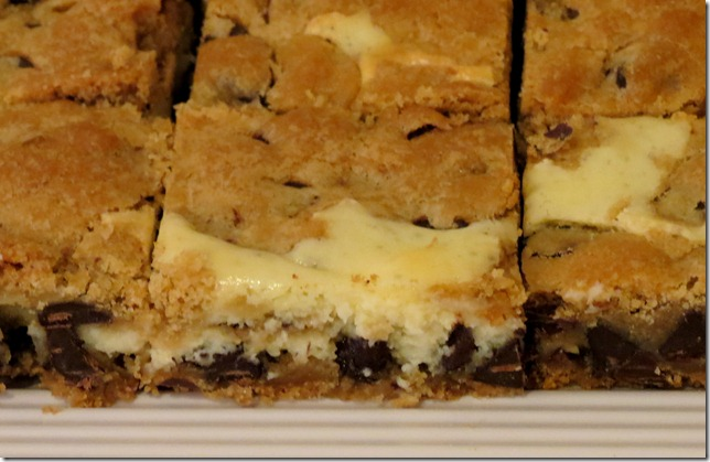 Cheesecake Chocolate Chip Cookie Bars 2