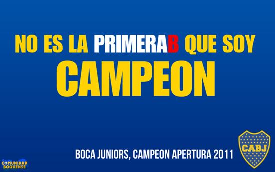 afiche boca campeon 2011 4