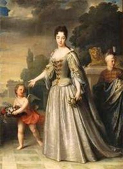 María Adelaida de Saboya, esposa del Duque de Borgoña