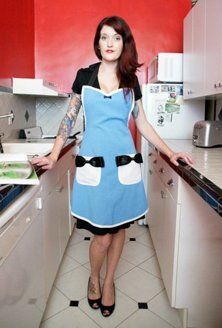 Alice in Wonderland Apron from HauteMessThreads