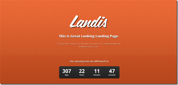 landis-blogger-template