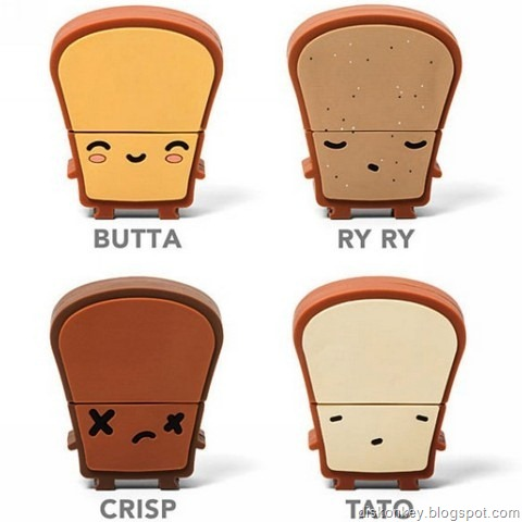Toast USB flash drive