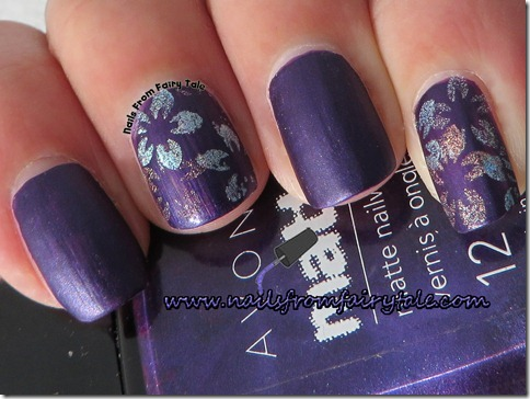 flowers holographic stamping 3
