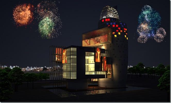 Miralles Tagliabue EMBT_Zhang Da Qian Museum_China