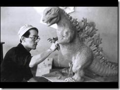 Gojira Extras First Concept Sculpture