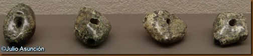 Silbatos de piedra del dolmen de Aizibita - Cirauqui