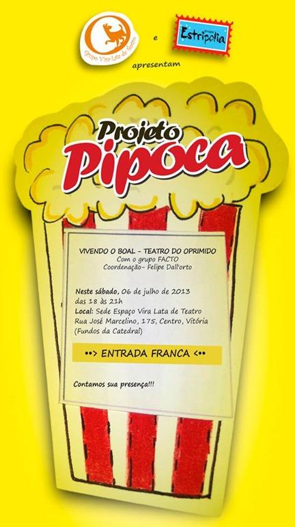 pipoca - 3 edicao