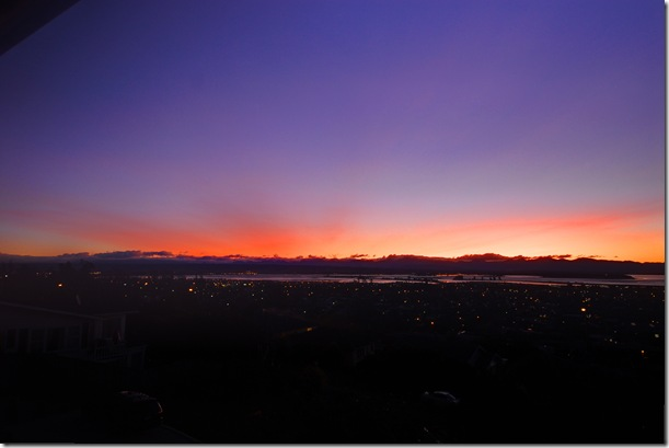sunset ashcloud