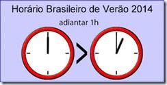 Horario Verão 2014