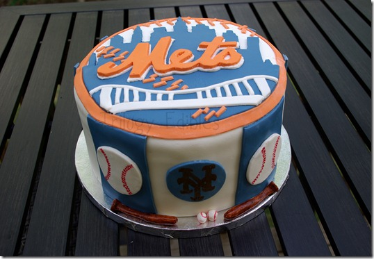 Trilogy Edibles NY Mets Grooms Cake