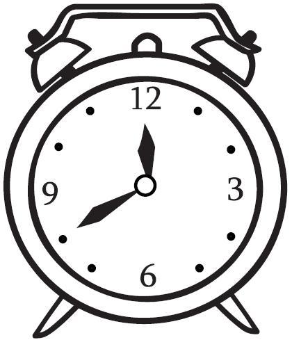 Dibujos de relojes para colorear imprimir imagui - Mecanismo para reloj de pared ...