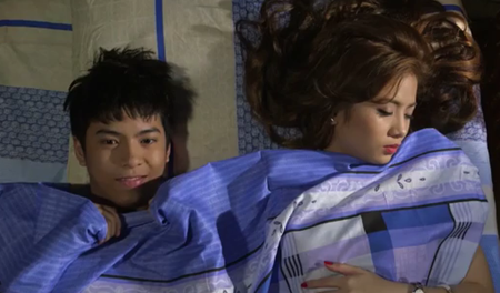 Nash Aguas, Ella Cruz in Bagito