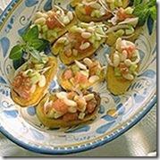 Bruschetta Tomatoes Beans