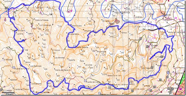 Mapa del Naranco
