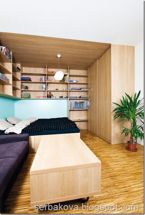 дизайн проект однокомнатной квартиры 3
