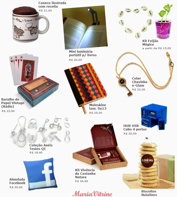 Lembrancinhas de Natal: 20 dicas de presentes legais de até 35 reais.