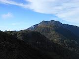 Gunung Arjuno seen from Gunung Welirang (Dan Quinn, June 2013)