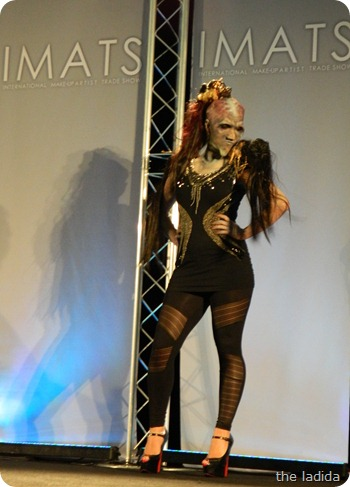 IMATS Sydney 2012 - Student Battle of the Brushes - Character Prosthetic - Chiahui Lin (2)