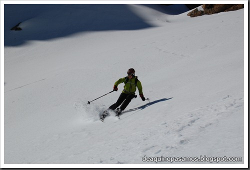 Circo Sur del Midi d'Ossau con esquis (Portalet, Pirineo Frances) (Fon) 140