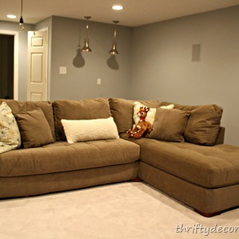 Small Basement Sectional