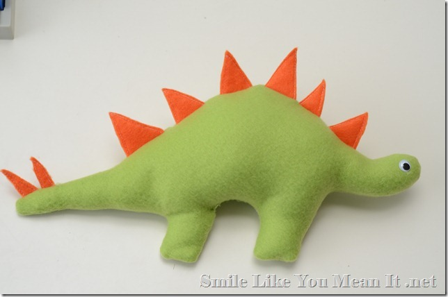 Stuffed Dinosaur Plushie Baby Toy