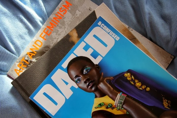 Magazine Flatlay Dazed