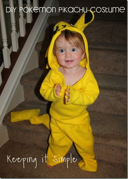 DIY Pokemon Pikachu Costume