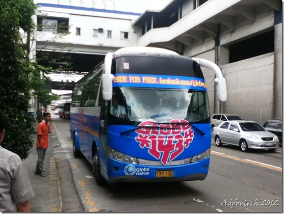 Globe Love Bus-Adobotech