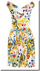 Vivienne Westwood Anglomania Printed Dress