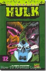 P00012 - Coleccionable Hulk #12 (de 50)