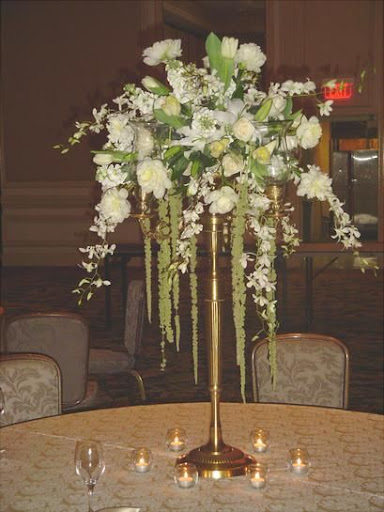 Gold Candelabra Wedding