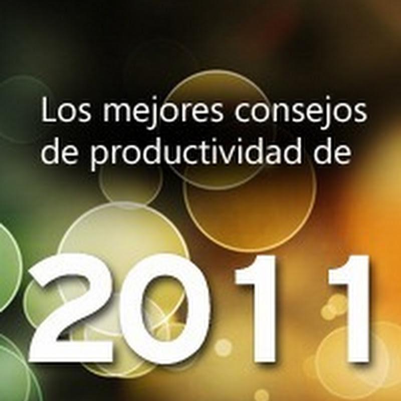 Los mejores consejos de productividad de 2011