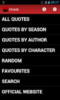 Screenshot of Unsub Criminal Minds Quotes