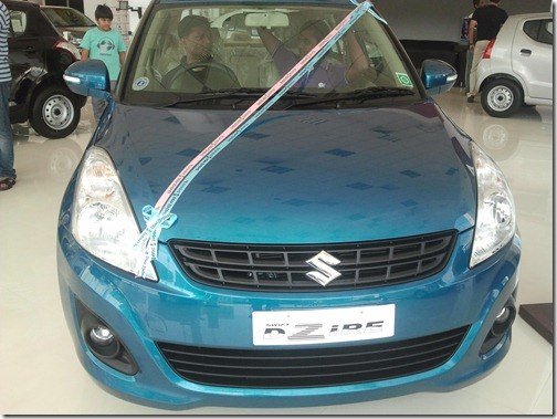 New Maruti Swift Dezire front