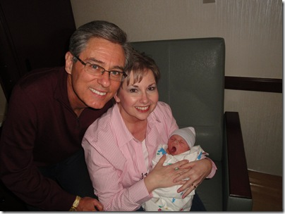 26.  Ron Ron and Nonnie holding Knox
