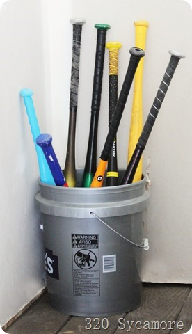 bats in bucket organization