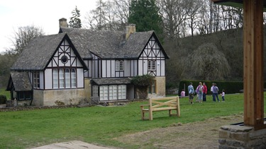 The Victorian Hunting Lodge on the site of the Roman Villa