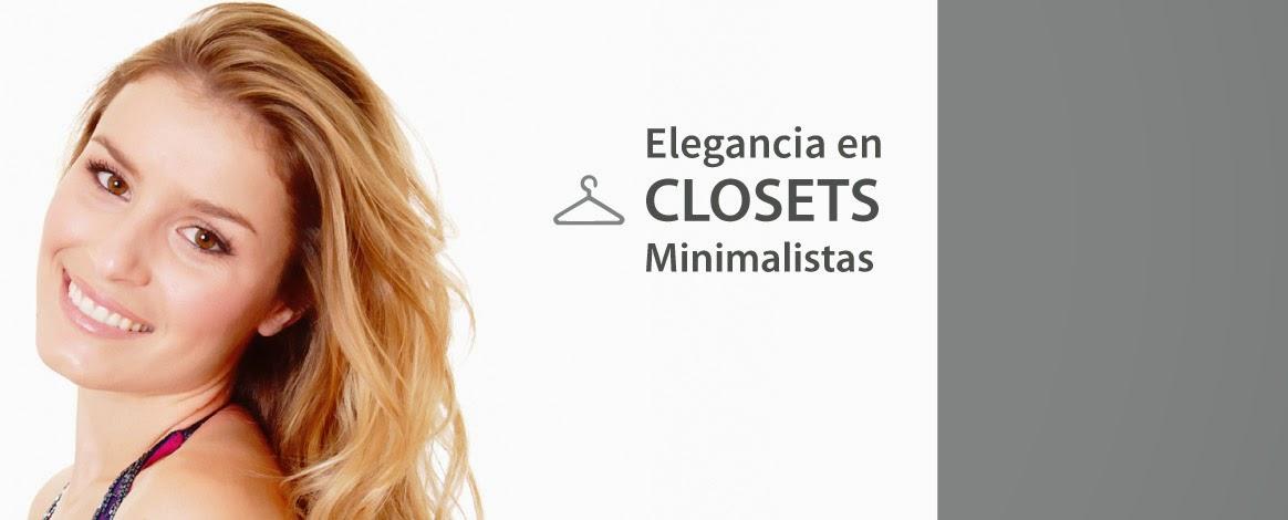 elegancia en closets minimalistas