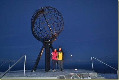 Two Explorers at the North Cape