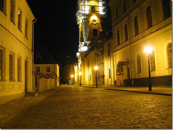 Кам'янець-Подільський вночі