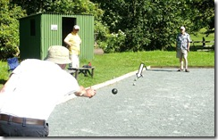 game of petanque