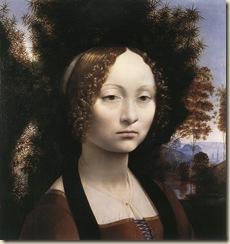 Leonard de Vinci, Ginevra Benci