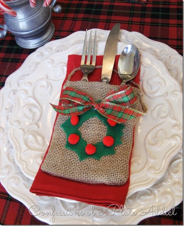 CONFESSIONS OF A PLATE ADDICT 3 in 1 Easy Christmas No-Sew Pocket