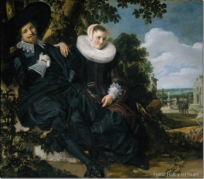 Franz Hals y su mujer.