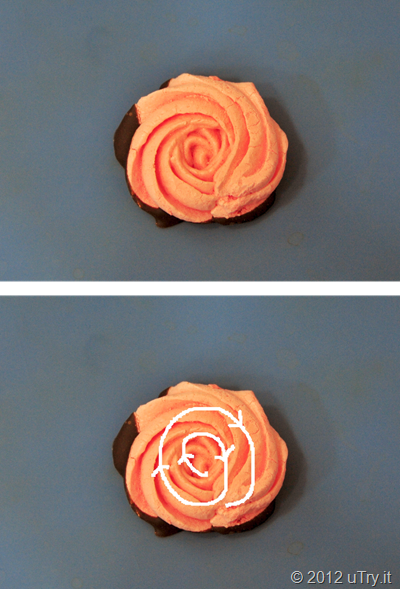 How to Pipe Rose Meringue