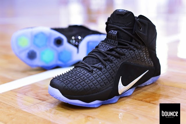 new product e88da 3a775 ... Detailed Look at NSW8217s LeBron XII EXT Black 8220Rubber City8221 ...