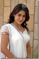farzana in white dress