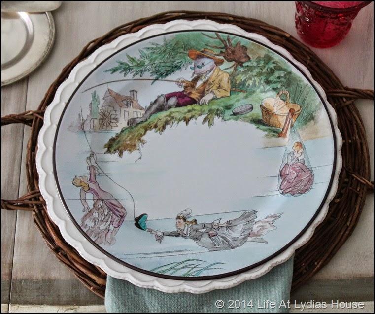 Parisian plate 2